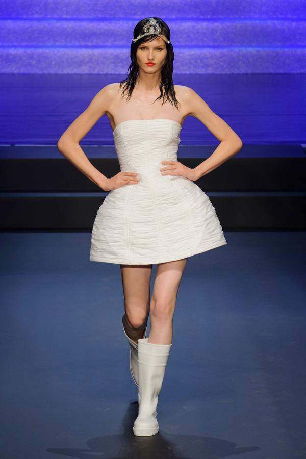 Fashion show Jean-Paul Gaultier, collection ready to wear spring/summer 2015