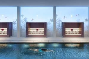 The pool of the spa
