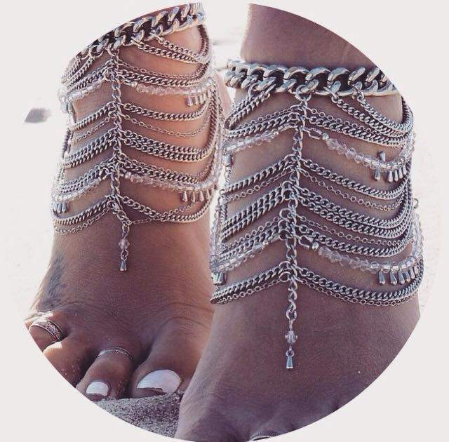 Thin Chain for ankle Summer 2015