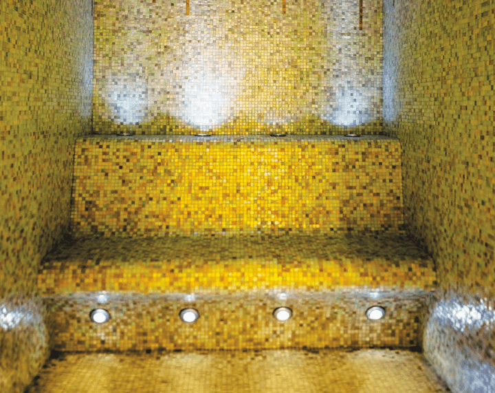 Hammam of the Wellnes Suite by Olivier Lecocq