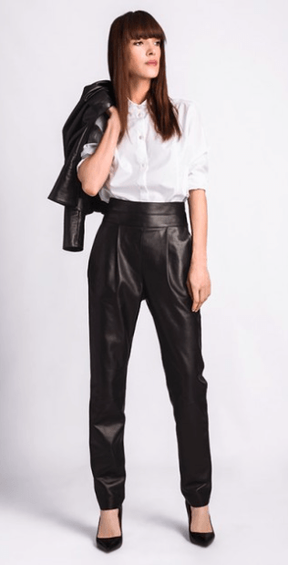 Leather Maison Ullens Fall/Winter 2015/2016