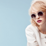 Lily-Rose Depp, ambassador for their glasses' collection, 2015