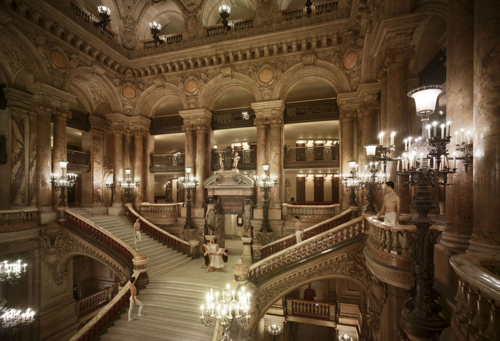 Visite coulisse Opéra