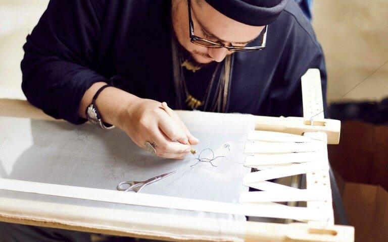 Atelier Noboru : la broderie haute couture / DR