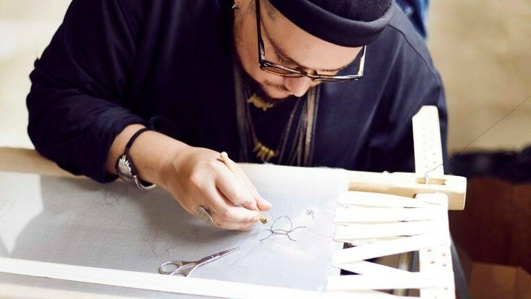 Atelier Noboru : la broderie haute couture