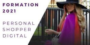 formation Personal shopper stylist 2021