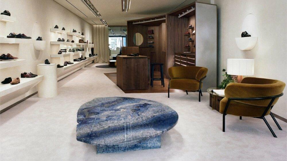 John Lobb et son nouveau concept store parisien