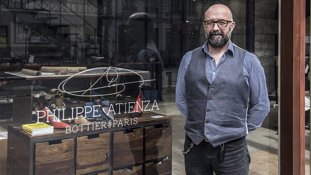 Philippe Atienza, un bottier reconnu