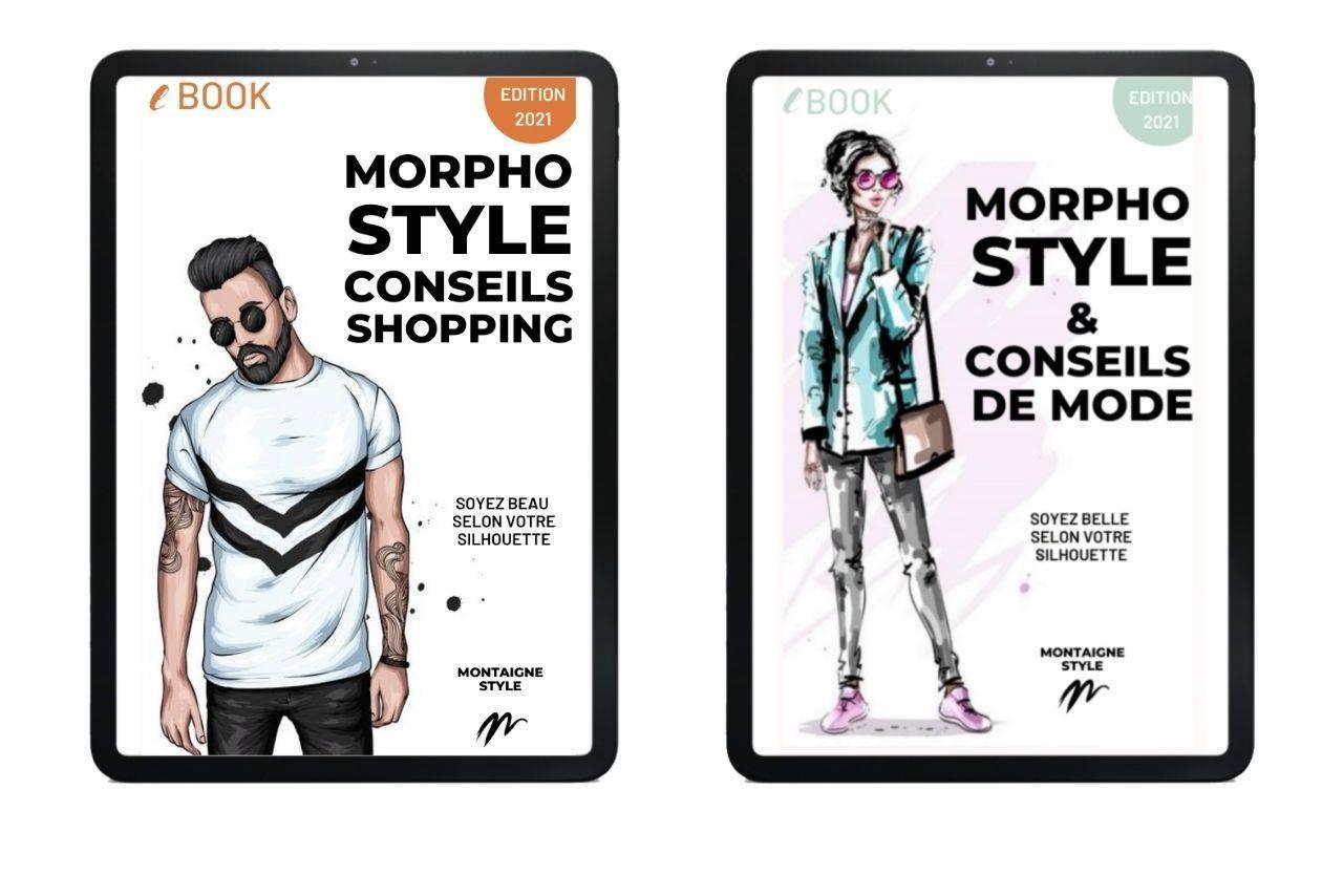 e-book gratuit la mode et le style avec des conseils shopping personnalisés - morpho style homme morpho style femme